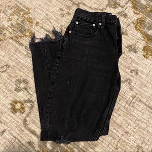 Abercrombie & Fitch High Rise Mom Jean, Size 27/4.